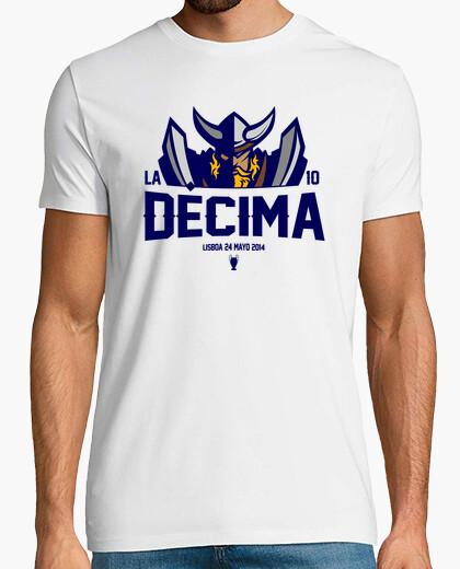 T-shirt real madrid la decima 2014