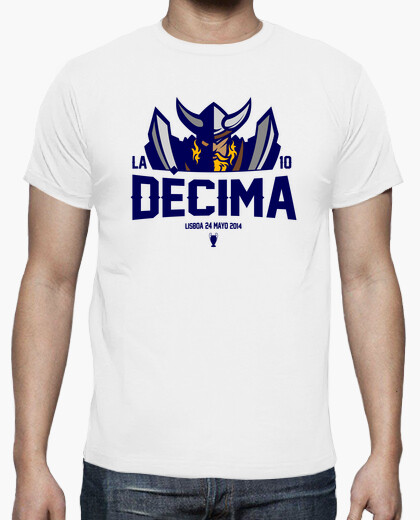 Real madrid la decima 2014 t-shirt