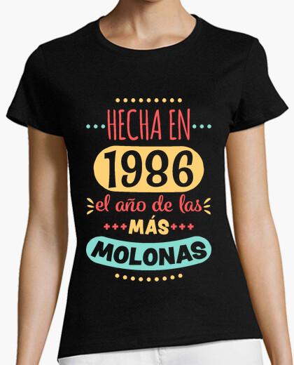 Tee-shirt réalisé en 1986 bangin
