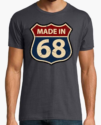T-shirt realizzato in 68