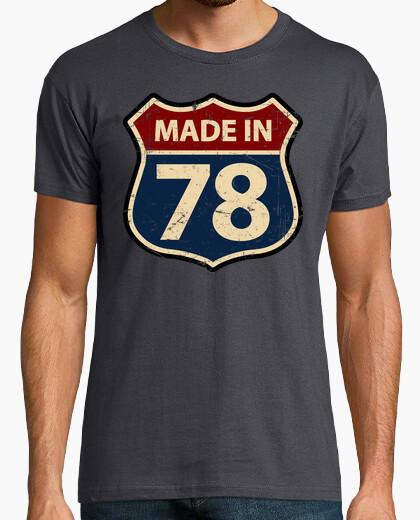 T-shirt realizzato in 78