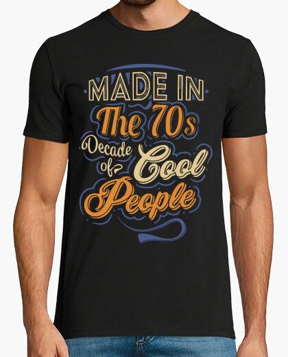 T-shirt realizzato negli anni '70 cool people