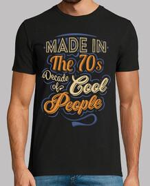 realizzato negli anni '70 cool people