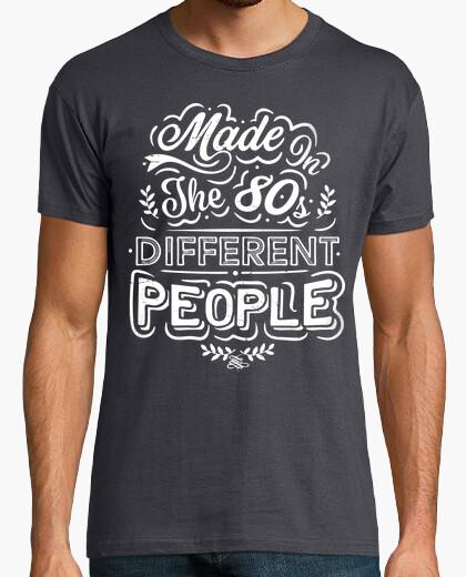 T-shirt realizzato negli anni '80 diverse people
