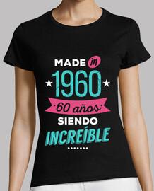 realizzato nel 1960 60 anni sono incred