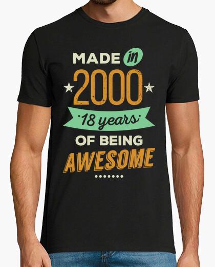 T-shirt realizzato nel 2000
