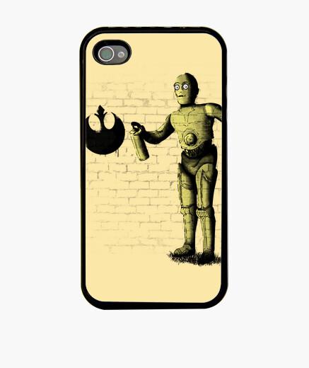 Funda iPhone Rebel banksy