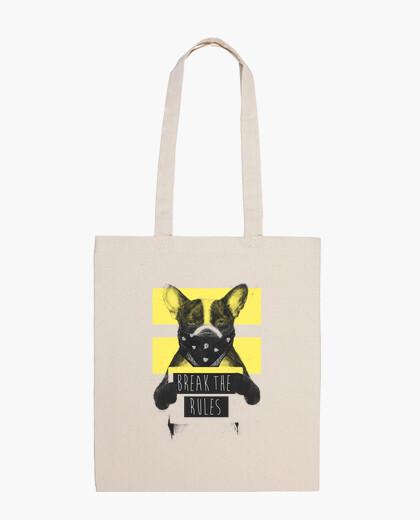 Bolsa Rebel dog yellow 2