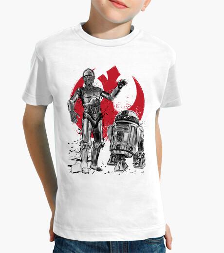 Ropa infantil Rebel Droids