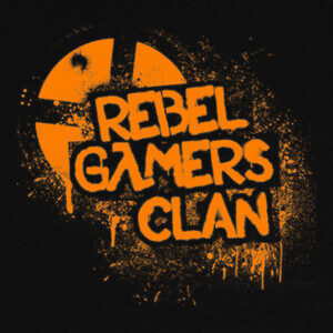 Camisetas Rebel Gamers Clan - Logo (Drawer)