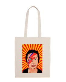 rebel hero - 100% cotton fabric bag