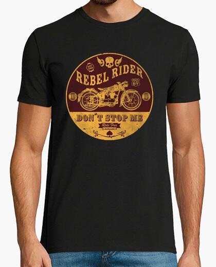 T-Shirt rebel reiter verhindere mich nicht