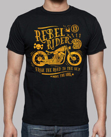 rebel rider. from the road to the sky