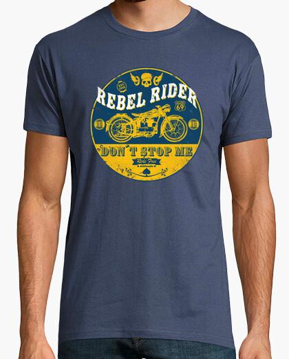 Camiseta Rebel Rider Vintage