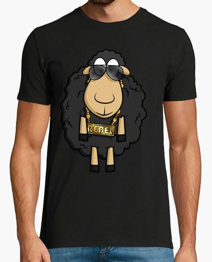Camiseta Rebel Sheep - Estilo Retro