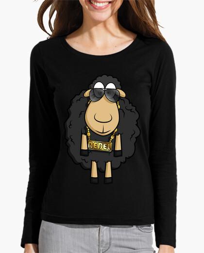 Tee-shirt Rebel Sheep - Manches Longues Femme
