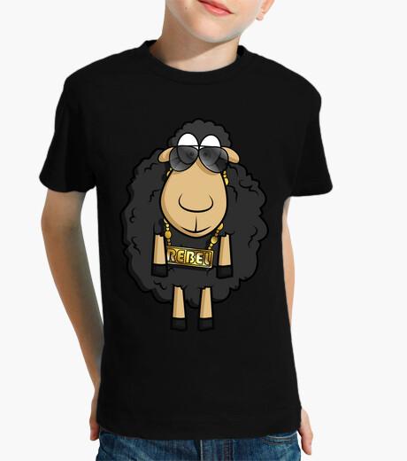 Abbigliamento bambino Rebel Sheep - Maniche Corte Bambino