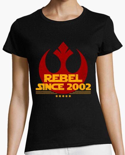 Camiseta Rebel since 2002