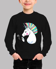 Rebel Unicorn-Para fondo negro.