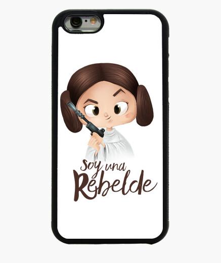 Rebelde-Funda iPhone 6 / 6S 6, negra