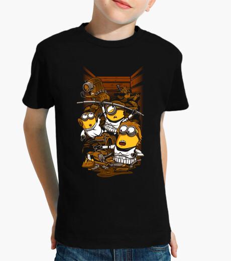 Ropa infantil rebeldes despreciables - camiseta de los niños