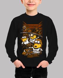 rebeldes despreciables - camiseta de los niños