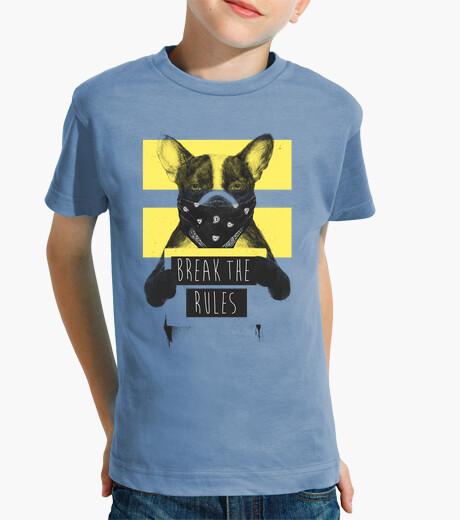 Vêtements enfant rebelle chien jaune 2