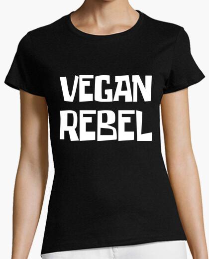 Tee-shirt rebelle végétalien