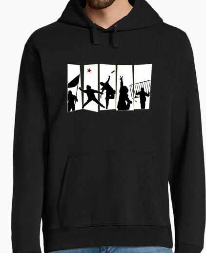 Rebellion sweatshirt hoody