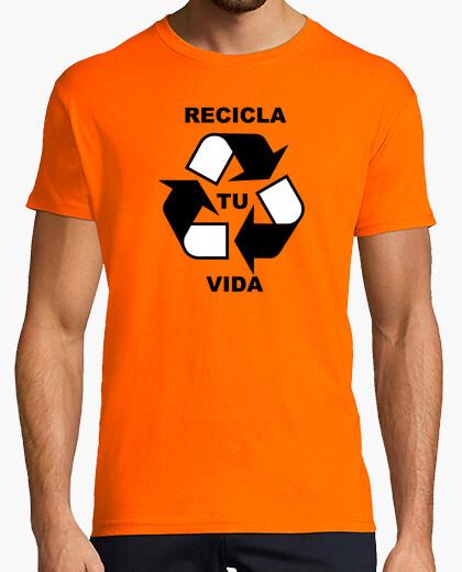 Camiseta Recicla Tu Vida 01