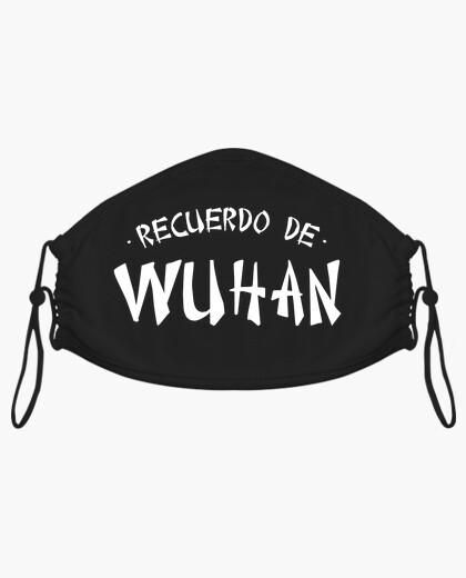Mascarilla Recuerdo de Wuhan