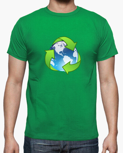 Recycling world t-shirt