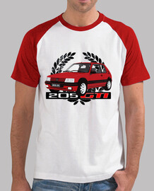red 205 gti