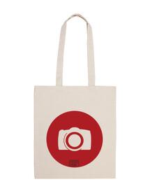 Red Camera bag