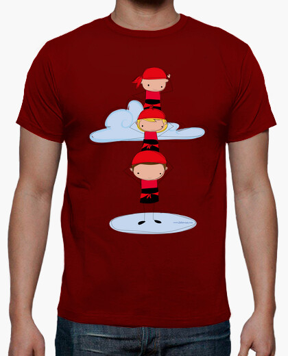 Red castellers t-shirt