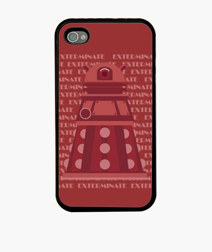 Funda iPhone Red Dalek IPh4