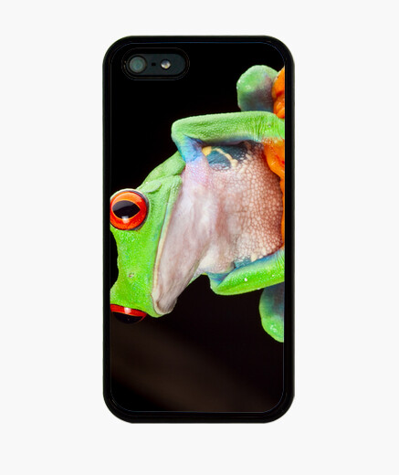 Cover iPhone red eyed tree frog