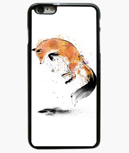 Funda iPhone 6 Plus / 6S Plus Red Fox jumping into Snow