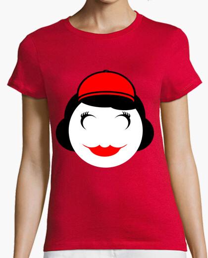 Camiseta Red Funny Girl