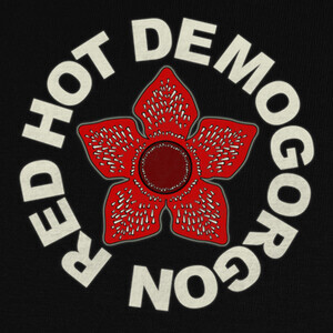 Camisetas Red Hot Demogorgon