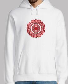 Red Lotus Mens hoodie