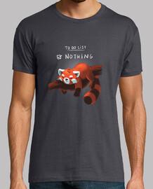 Red panda days t-shirt
