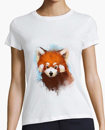 Camiseta Red panda ink  t-shirt
