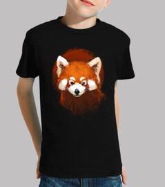 red panda sunset