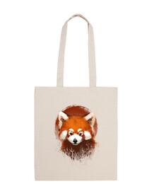 Red panda sunset bag