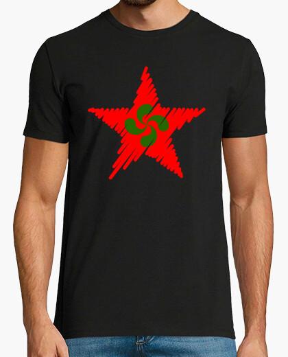 Tee-shirt red star coups de lauburu
