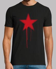 red star grunge