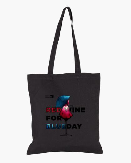 Red Wine Bolsa de tela