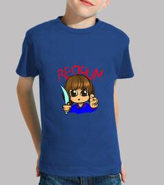 RedRum camiseta niño