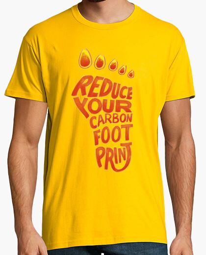 Camiseta Reduce tu huella carbónica